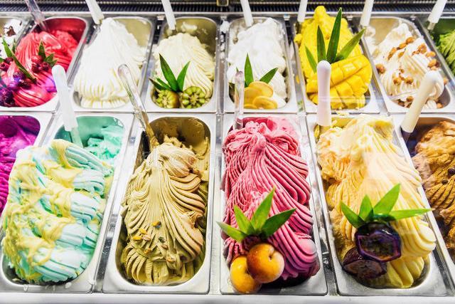 E con il caldo vola il consumo dei gelati...