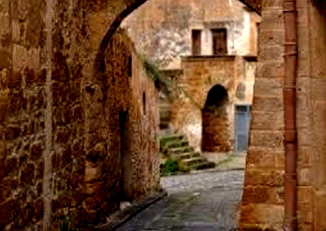Uno scorcio del quartiere arabo di Sambuca di Sicilia