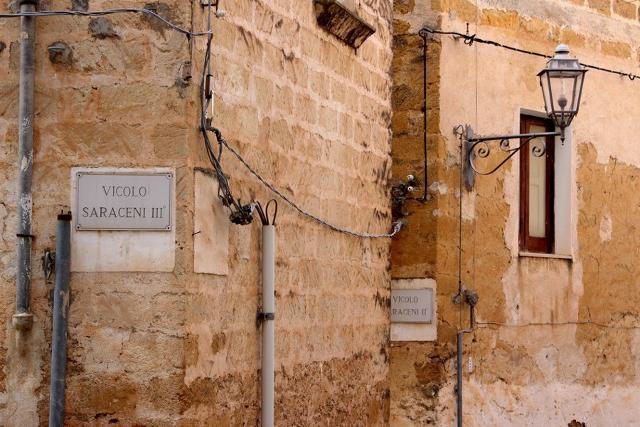 I vicoli Saraceni di Sambuca di Sicilia