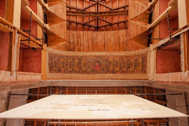 Teatro Garibaldi Venue, 2017 Palermo © Manifesta12 ph Cave Studio