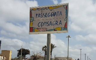 Intestata a Consagra la 'passeggiata' del lungomare a Mazara del Vallo