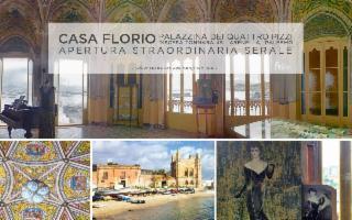 Casa Florio, apertura palazzina dei quattro pizzi all'Arenella