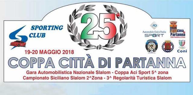 Aumenta l'attesa per la 25/ma edizione dello Slalom Città di Partanna