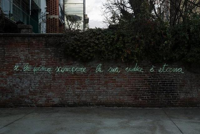 ''Se la forma scompare la sua radice è eterna''