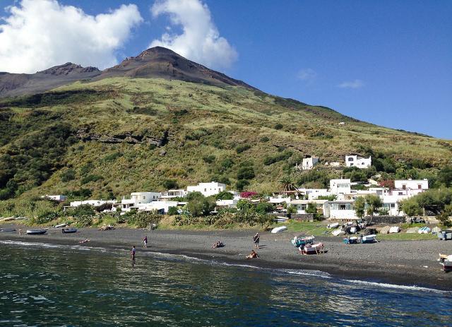 Spiaggia Ficogrande, Stromboli