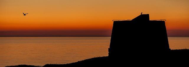 Ustica al tramonto