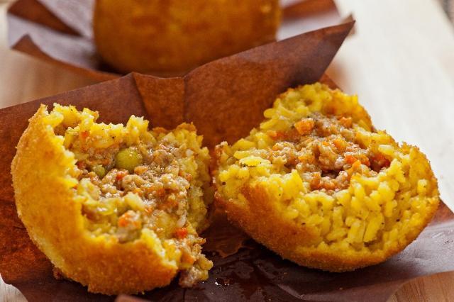 """Arancine con la carne, altro caposaldo dello """"street food"""" siciliano"""