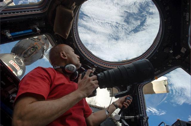 Luca Parmitano fotografa la Terra dalla Stazione Spaziale