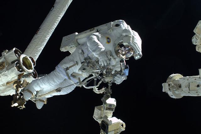 Passeggiata spaziale di AstroLuca