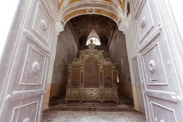 Oratorio della Madonna dei Peccatori Pentiti, Palermo - © Manifesta, photo Cave Studio
