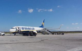I comuni del trapanese, entro il 30 aprile, salderanno il debito con Ryanair