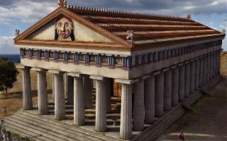 Portate alla luce le fondazioni del Tempio C di Selinunte