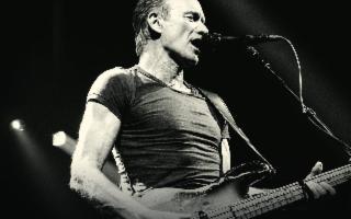 Sting in concerto