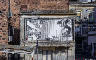 La street artist dai muri Catania a un Museo di Noto