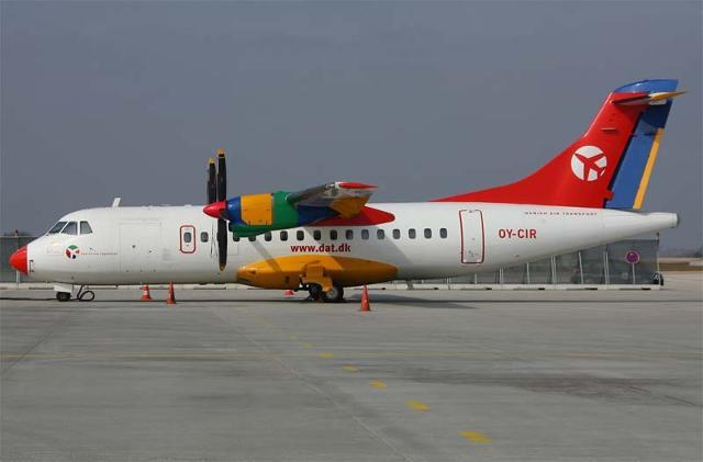La compagnia danese Dat dedica un aereo a Pantelleria