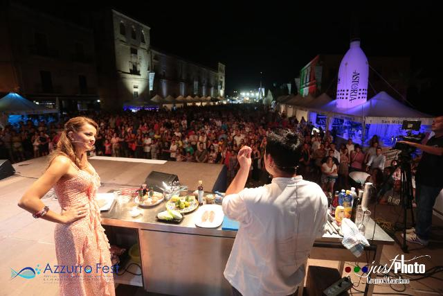 Uno show cooking ad Azzurro Food