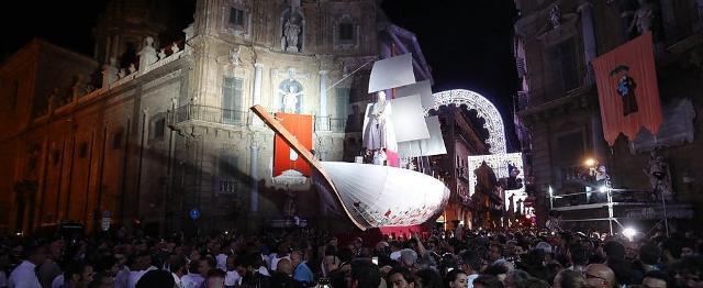 400 mila persone per la notte del Festino di Santa Rosalia!