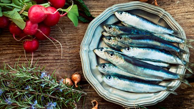 Il pesce azzurro, protagonista dell'Azzurro Food