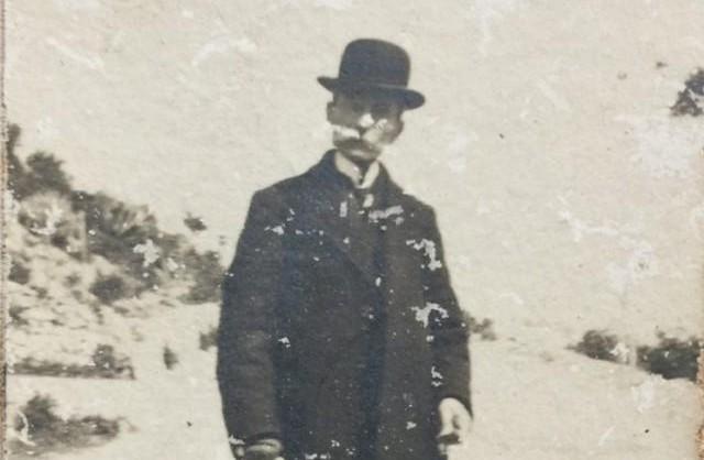 Giuseppe Patiri (foto gentilmente concessa da Vilma Scaffidi, pronipote di Giuseppe Patiri)