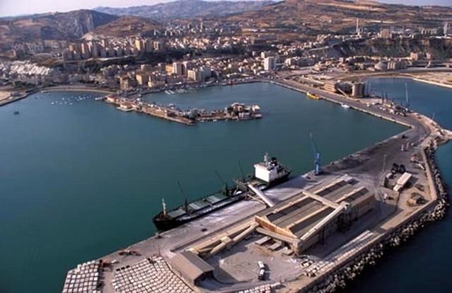 Panorama di Porto Empedocle