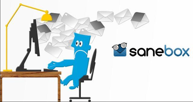 Il sistema di gestione delle mail Sanebox vi può togliere l'ansia della posta da smaltire