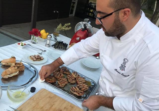 Lo chef Fabrizio Zingale