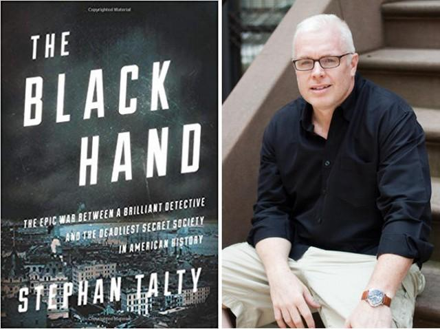 ''The Black Hand''. Lo scrittore americano Stephan Talty a Palermo