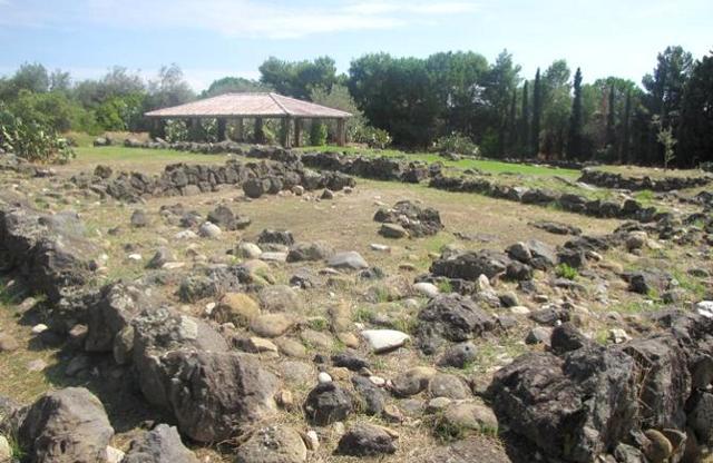 Zona degli scavi di Giardini Naxos