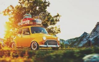 Andare in vacanza in automobile...