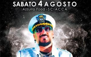 Gigi D'Agostino a Sciacca per Azzurro Food