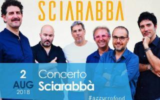 Gli Sciarabbà in concerto a Sciacca per Azzurro Food