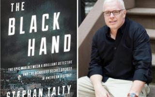 The Black Hand. Lo scrittore americano Stephan Talty a Palermo