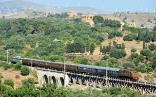 Con la tratta da Agrigento a Porto Empedocle al via i Treni storici del Gusto
