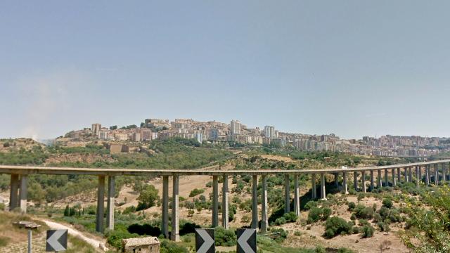 Il viadotto Morandi di Agrigento
