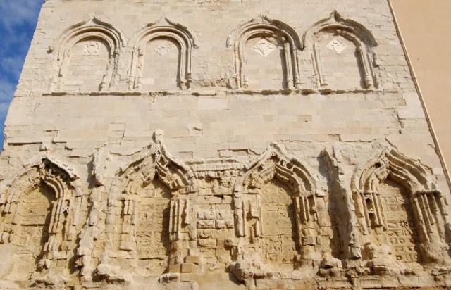 Particolare della torre campanaria della Cattedrale di San Gerlando - Agrigento