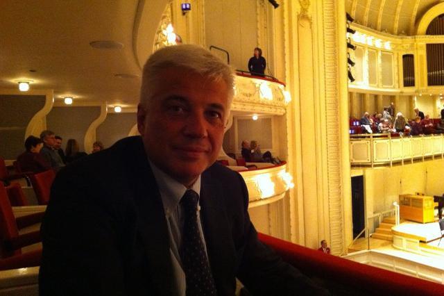 Sovrintendente della Fondazione Teatro Massimo, Francesco Giambrone