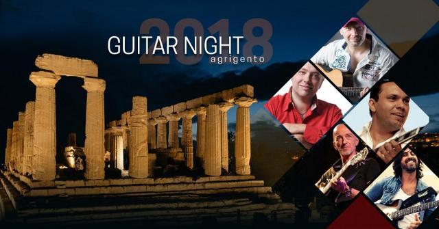 La Valle dei Templi palcoscenico della ''Guitar night 2018''