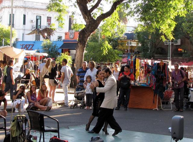 Il Tango tra le strade del barrio Palermo a Buenos Aires