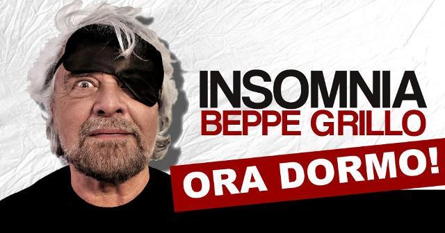 """""""Insomnia (Ora Dormo!)"""" di e con Beppe Grillo"""