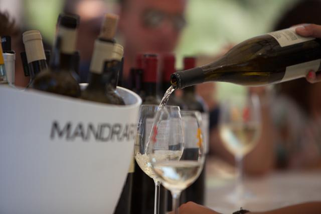 Le degustazioni del Mandrarossa Vineyard Tour