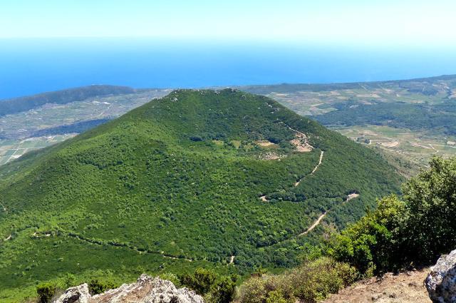 Monte Gibele visto da Montagna Grande, Pantelleria