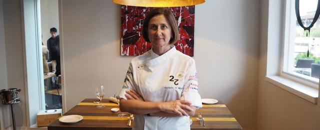La chef Patrizia Di Benedetto