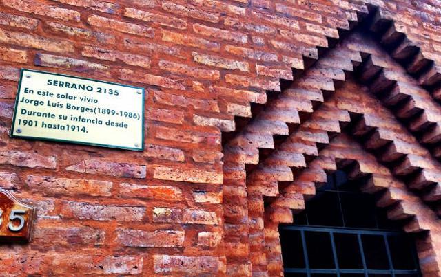 Serrano 2135, la casa dove visse l'infanzia Jorge Luis Borges nel barrio Palermo di Buenos Aires