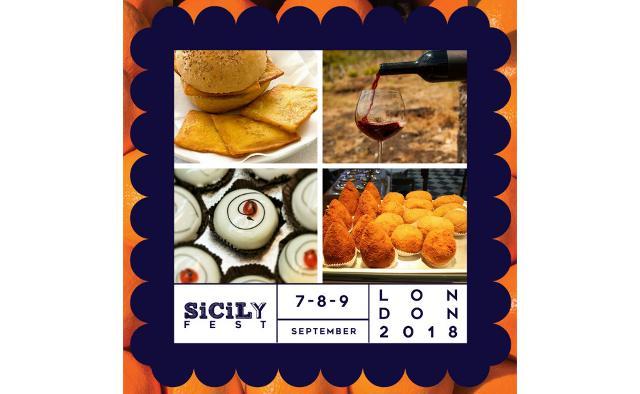"""Ci sarà tantissimo street food al SicilyFEST di Londra: arancine, pane e panelle, cannoli, pane con la """"meusa"""", sfincie, pasta alla norma, pasta con le sarde etc."""