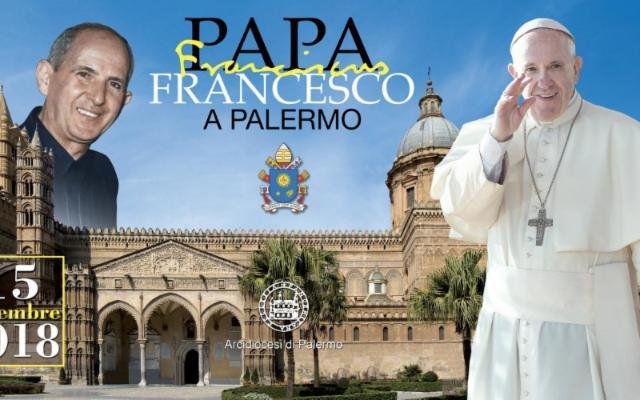 Fervono i lavori per l'arrivo del Papa a Palermo