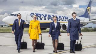 Lavoro: Ryanair cerca personale di bordo a Palermo e a Catania