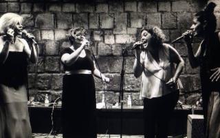 Quartetto Glorius in 'Senza rete. Omaggio a Mina'