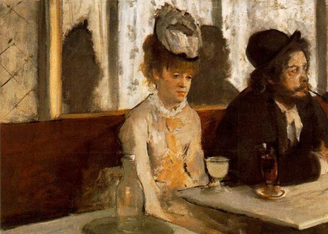 """""""L'Absinthe"""" (L'assenzio) di Edgar Degas"""