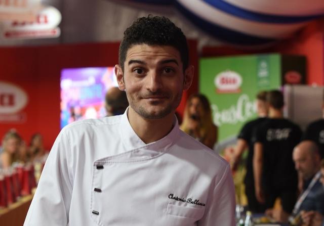 """Antonio Bellanca, chef che gestisce il ristorante """"Officina del Gusto"""" a Grotte (AG)"""