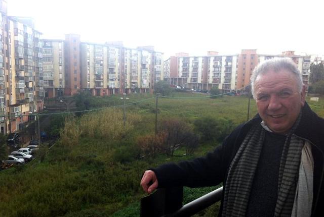 Antonio Presti a Librino, Catania